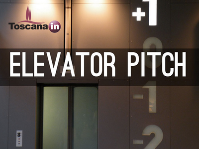Elevator Pitch ToscanaIN