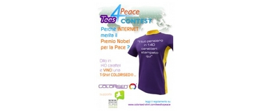 ToscanaIN supporta Tees For Peace